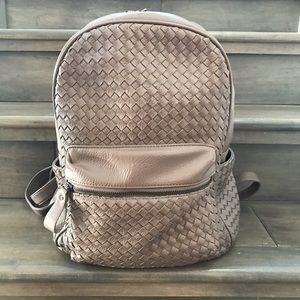 Madison West Brown Taupe Stitch Fix Backpack